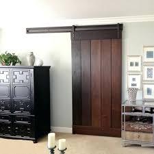 interior barn door hardware. Indoor Barn Door Hardware Even A Rich Dark Wood Looks Great The Blends Interior
