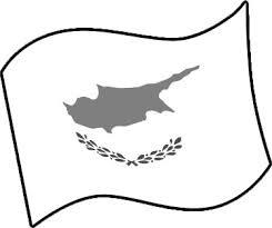 キプロスの国旗のイラスト フリーイラスト素材 変な絵net