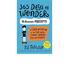 365 days of wonder mr browne s precepts paperback