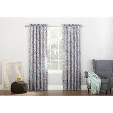 Turquoise Curtains For Living Room Curtains Window Treatments Walmartcom