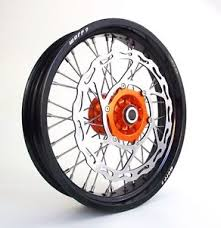 orange on black 17 5 supermoto wheels ktm all motard with 320