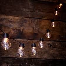 Main For Bulb Solar Powered Globe String Lights