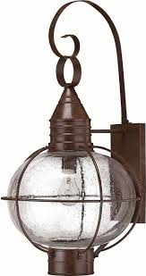 hinkley 2205sz cape cod 1 light 26 inch outdoor nautical wall sconce in sienna bronze loading zoom