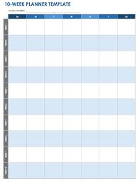 Weekly To Do Calendar Template 28 Free Time Management Worksheets Smartsheet