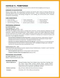 Financial Analyst Resume Example Financial Analyst Resume Samples Me