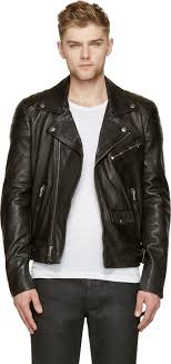 BLK DNM BLK DNM Black Leather Quilted Biker Jacket | Where to buy ... & ... BLK DNM BLK DNM Black Leather Quilted Biker Jacket Adamdwight.com