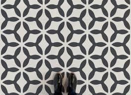 concave vintage abstract pattern flooring neutral feet vinyl