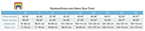 Mens Rainbows Size Chart Little Round Droid Mens Puffer Vest