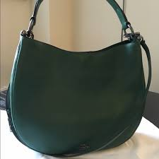 Coach Nomad Hobo in Racing Green