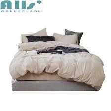Luxury Designer Bedding Sets Velvet Soft Bedding Sets King Bed Quilt Cover Luxury Designer Bed Sets Teen Bedding Set Zipper Closure Velvet Bedding