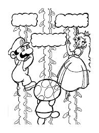 Coloriage Super Mario Bros L L L L