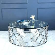 round silver coffee table coffee table silver coffee table silver round silver drum coffee table silver