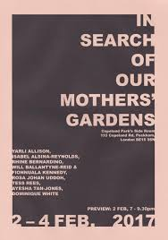 exhibition in search of our mothers gardens