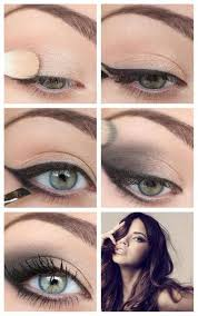 smokey eye makeup via