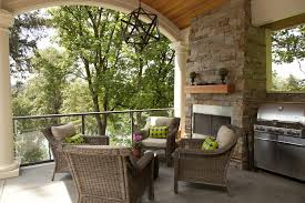 covered porch furniture. covered porch with fireplace traditional wicker furniture stainless steel grate c