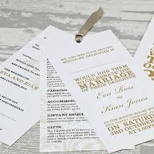 wordie wallet wedding invitation by love wedding print Wedding Invitations On The High Street wordie wallet wedding invitation in gold wedding invitations not on the high street