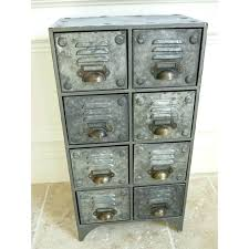 metal storage cabinet with drawers. Industrial Metal Storage Cabinet Cabinets With Drawers Vintage Retro Style 8
