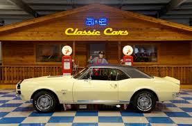 1967 CHEVROLET CAMARO RS – BUTTERNUT YELLOW / BLACK – A&E Classic Cars