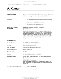 Mba Resume Format For As Internship Certificate Doc Best Of Fresher ...