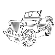 Small Picture Top 10 Free Printable Jeep Coloring Pages Online
