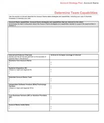 Sales Plan Document 001 Template Ideas Strategic Sales Plan Ulyssesroom