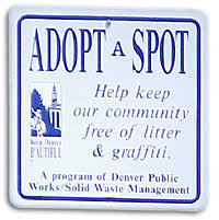 news events keep denver beautiful image of adopt a spot sign