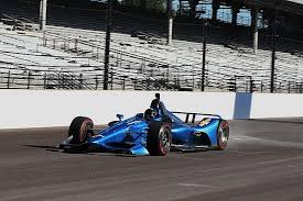2018 chevrolet indycar. perfect indycar new indycar design for 2018 hits the track at indianapolis in chevrolet indycar