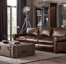 companies wellington leather furniture promote american. RH\u0027s Original Lancaster Leather Sleeper Sofa:Exceptionally Luxurious At Nearly Four Feet Deep, Features Ultra-comfortable Cushions And Is Companies Wellington Furniture Promote American