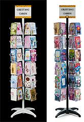 Free Standing Christmas Card Holder Display Greeting Card Display Racks In Multiple Sizes Marvolus Store 76