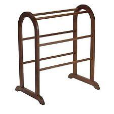 Quilt Hangers & Stands | eBay & Winsome Wood Quilt Rack, Walnut Adamdwight.com