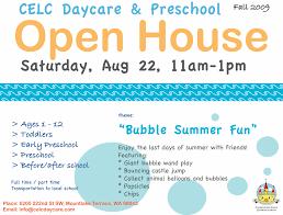 Preschool Open House Flyer Palaeos Flyers Preschool Open House Flyer