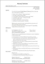 Pharmacy Assistant Resume Sample Cover Letter Sample