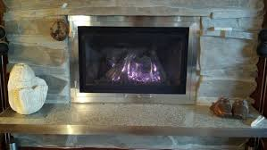 arched fireplace doors wood stove door open or closed used on