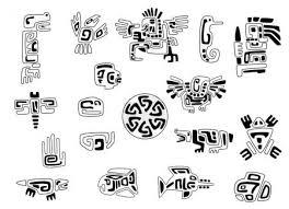 Vektorová Grafika Sada Stylizované Indiánské Symboly 108178664