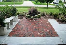 brick patio design and installation