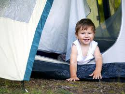 Image result for toddler camping  eating