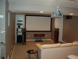 Image of: Small Basement Remodeling Ideas with White Sofa