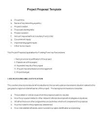 It Project Proposal Template Free Download Free Business Proposal Template Doc Chanceinc Co
