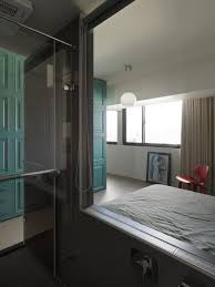 Funky Bathroom Modern Master Bedroom With Glass Bathroom In Small Taiwanese