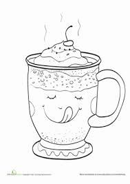 Small Picture Hot Chocolate Worksheet Educationcom