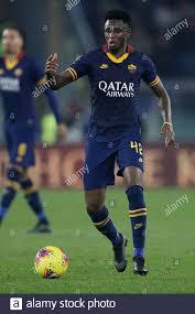 Rome, Italy. 12th Jan, 2020. Amadou Diawara of AS Roma ...