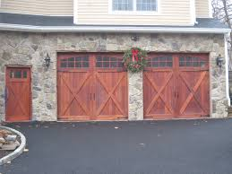 wood garage doors and carriage doors rustic garage