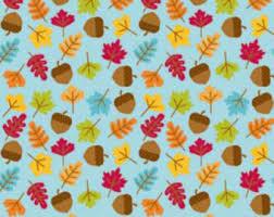 Autumn fabric | Etsy & Fall Fabric, Riley Blake C4034 Blue, Happy Harvest, Doodlebug Designs, Autumn  Fabric Adamdwight.com