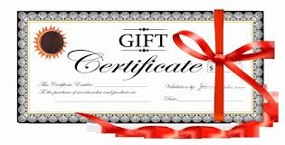 Gift Certificate Word Template Free Cool Gift Certificate Word Template Free Lcysne