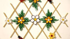 paper quilling craft for wall decoration how to make quilling decoration