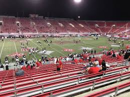 Sam Boyd Stadium Virtual Seating Chart Sam Boyd Stadium Section 130 Rateyourseats Com