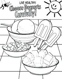 Astonishing Cute Food Coloring Sheets Pages Of Stunning Printable