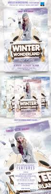 Winter Wonderland Flyer Template 6400891 » Free Download Photoshop ...