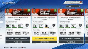 Madden 20 Cleveland Browns Player Ratings Roster Depth