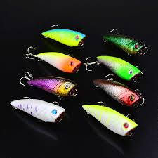 1pc 3D Printed <b>Popper Wobbler Fishing Lure</b> With 4# hooks 7.8cm ...